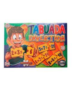 Jogo Tabuada Divertida 160 Peças 2 a 6 jogadores Toia - DIVERSOS