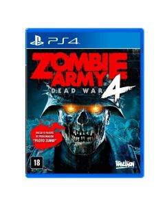 Jogo Zombie Army 4 PS4 - Tiro