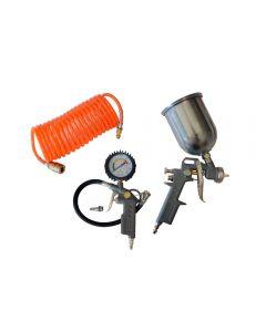 Kit Acessórios Para Motocompressor 4 Peças Motomil - 5468.6