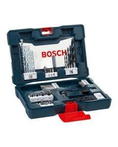 Kit Acessórios V-Line com 41 peças Bosch - Azul