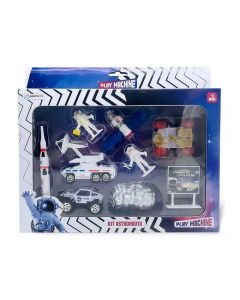 Kit Astronauta Play Machine Multikids - BR1035 - Branco