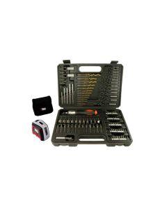 Kit de Brocas com 115 peças A7132LA Black & Decker - DIVERSOS