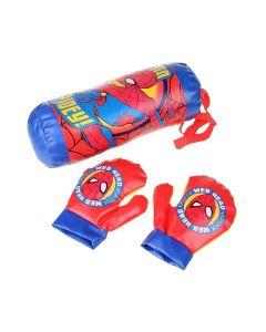 Kit Boxe Homem Aranha DY-485 Etitoys - Vermelho