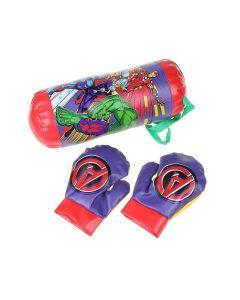 Kit Boxe Vingadores DY-486 Etitoys - Vermelho