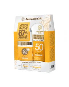 Kit De 02 Protetores Fps 50 Australian Gold - Diversos