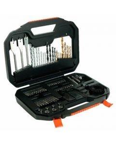 Kit de Acessórios com 100 peças Black And Decker A7187-XJ - DIVERSOS