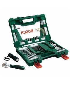 Kit de Acessórios com 83 peças V-Line Bosch - Verde