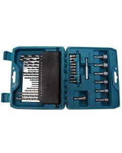 Kit de Brocas e Bits com 36 peças Makita P90320 - DIVERSOS