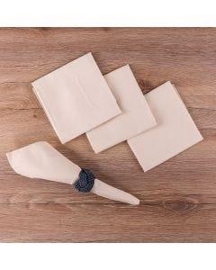Kit de Guardanapos 4 peças Liso Home - Aspargo