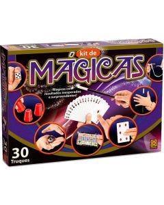 Kit de Mágicas com 30 Truques Diferentes Grow - Roxo