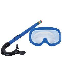 kit de Mergulho Infantil com 2 peças Master Beach JL290545N - Azul