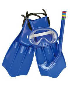 Kit Mergulho Juvenil Dive-Set Master Beach JL290552N - Azul
