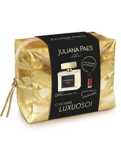 Kit Deluxe Necessaire+ Perfume Edt+ Esmalte Juliana Paes - DIVERSOS