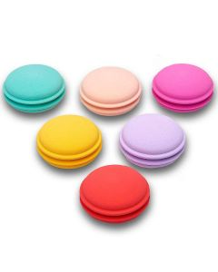 Kit Esponja Macarons Boby Blues - Multicor