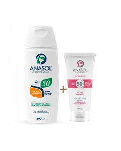 Kit FPS 200ML + Facial FPS50 60G Anasol - KIT