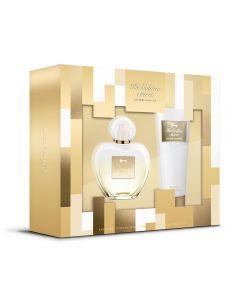 Kit Her Golden Secret 80Ml + Hidratante 75Ml Antônio Banderas - Diversos