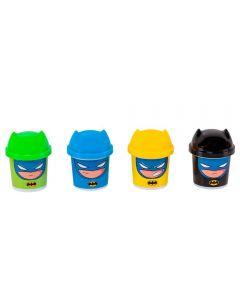 Kit Massinha Batman DC 4 Potes Sunny - 2161