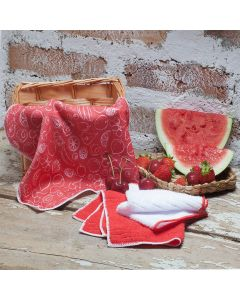Kit Pano de Limpeza Color Art Corttex - Fruta
