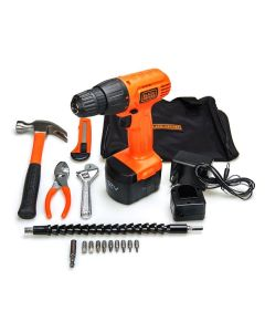 Kit Parafusadeira 12V CD121KA Black And Decker - BIVOLT