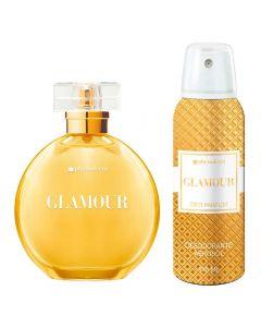 Kit Perfume 100ml e Desodorante 110ml Glamour Phytoderm - Feminino