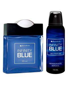 Kit Perfume e Desodorante Infinity Blue - Masculino