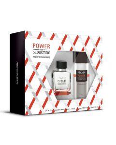 Kit Power Of Seduction 100Ml + Deo Spray 150Ml Antônio Banderas - Diversos