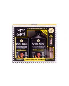 Kit Shampoo e Condicionador Morte Súbita + Batom Oh Maria - Lola
