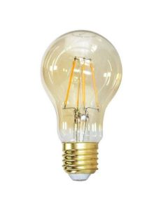 Lâmpada LED Filamento Vintage A60 4W Âmbar Taschibra - Bivolt