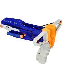 Lança de Dardos Nerf Slingstrike N-Strike Hasbro - Azul