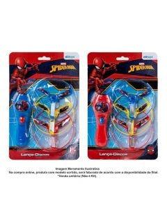 Lança Discos Com 3 Peças Spiderman Etitoys - DY-534