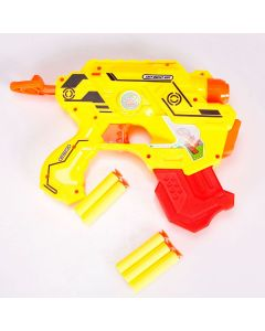 Lançador de Dardos com 5 Dardos Yoyo Kids - Amarelo