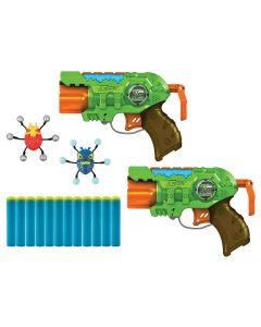 Lançador de Dardos X-Shot Ataque de Insetos Candide - Verde