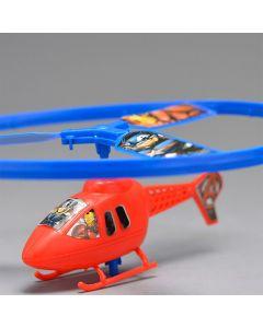 Lançador de Helicóptero Vingadores Toyng - Azul