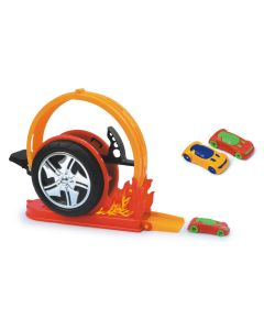 Lançador Mega Speed 184 Crazy Streets BS Toys - Laranja