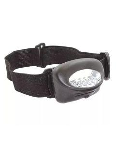 Lanterna para Cabeça 5 Leds LC5 Western - Preta