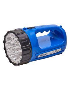 Lanterna Recarregável com 15 LEDs Bivolt Western EL-344 - Azul