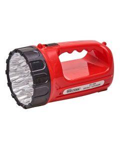 Lanterna Recarregável com 15 LEDs Bivolt Western EL-344 - Vermelho