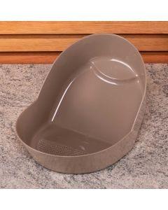 Lavador de Arroz 28cm Plasvale - Marrom