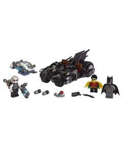 Lego Batalha contra o Senhor Frio 200 Peças - 76118 - Preto