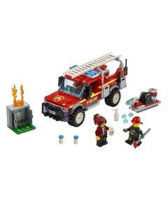 Lego City Caminhão dos Bombeiros 201 Peças - 60231 - Vermelho