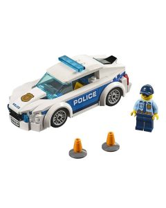 Lego City Carro Patrulha Da Polícia 92 Peças - 60239