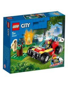 Lego City Floresta em Chamas 84 Peças - 60247