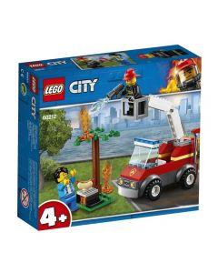 Lego City Fogo no Churrasco 64 Peças - 60212 - Vermelho