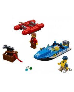 Lego City Fuga no Rio Furioso 126 Peças - 60176