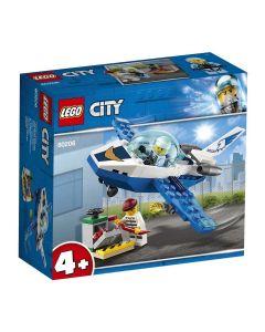 Lego City Patrulha Aérea 54 Peças - 60206