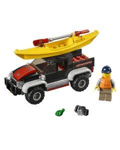 Lego City Transportando o Caiaque 84 Peças - 60240
