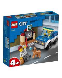 Lego City Unidade de Cães-Policiais 67 Peças - 60241