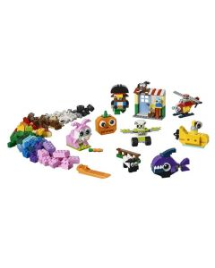 Lego Classic Peças e Olhos - 11003 - Colorido