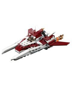 Lego Creator 3 Em 1 Voos Futuristas 157 Peças - 31086