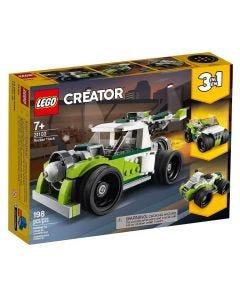 Lego Creator Caminhão-Foguete 198 Peças - 31103